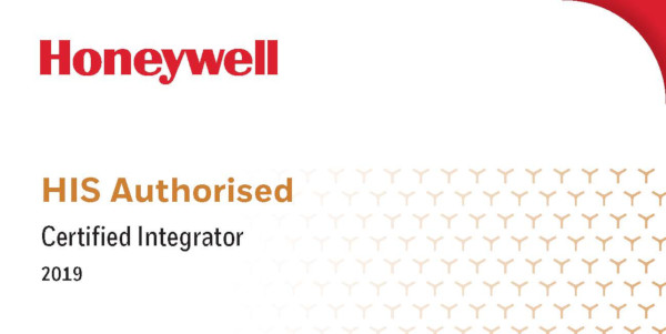 Honeywell HIS Authorised Certified Integrator badge